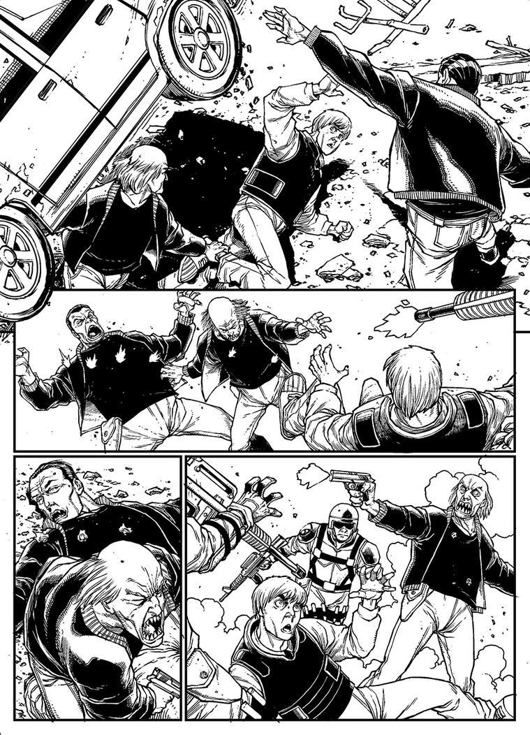 V-Wars #0 - page 2 by alanrobinson