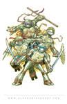 Teenage Mutant Ninja Turtles pinup