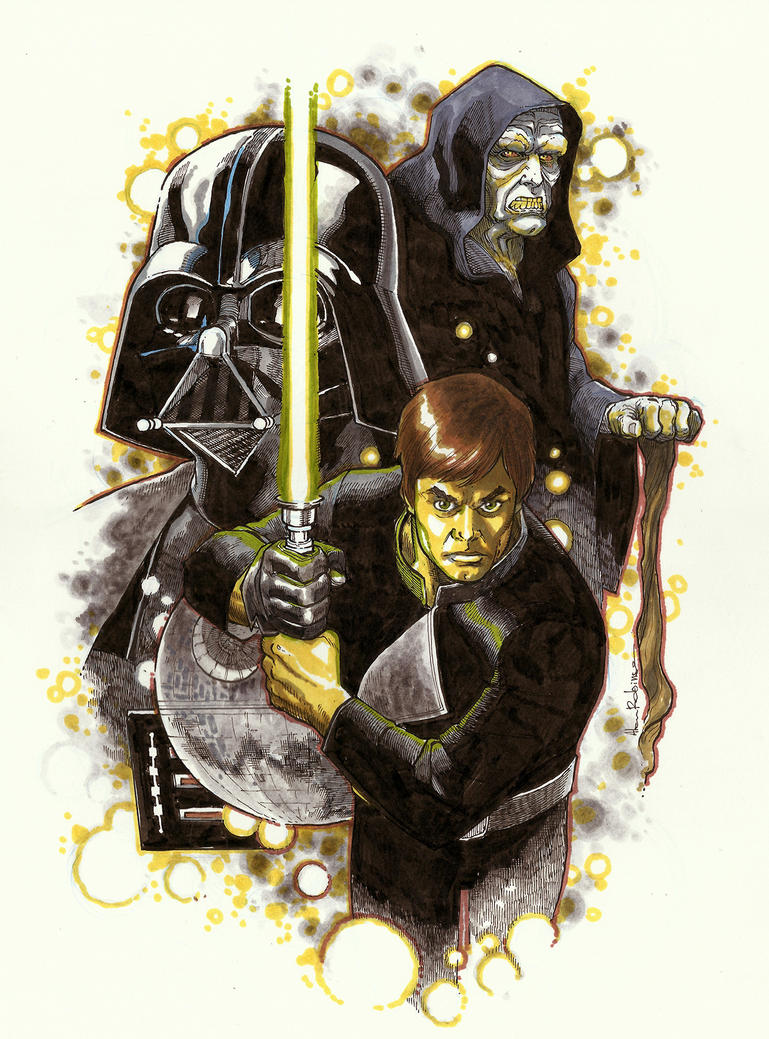 ROTJ Sketch by alanrobinson