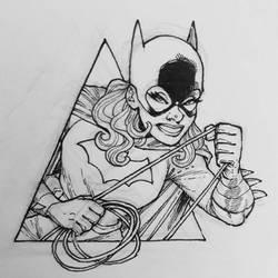 Inktober Batgirl by alanrobinson