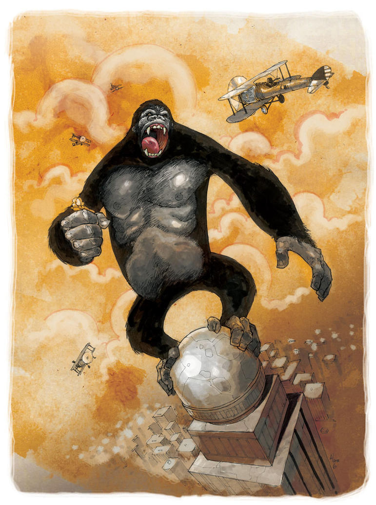 Color Kong by alanrobinson