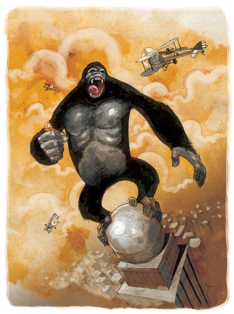 Color Kong by alanrobinson