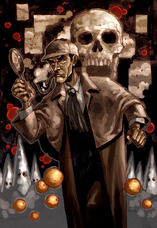 Sherlock Holmes by alanrobinson