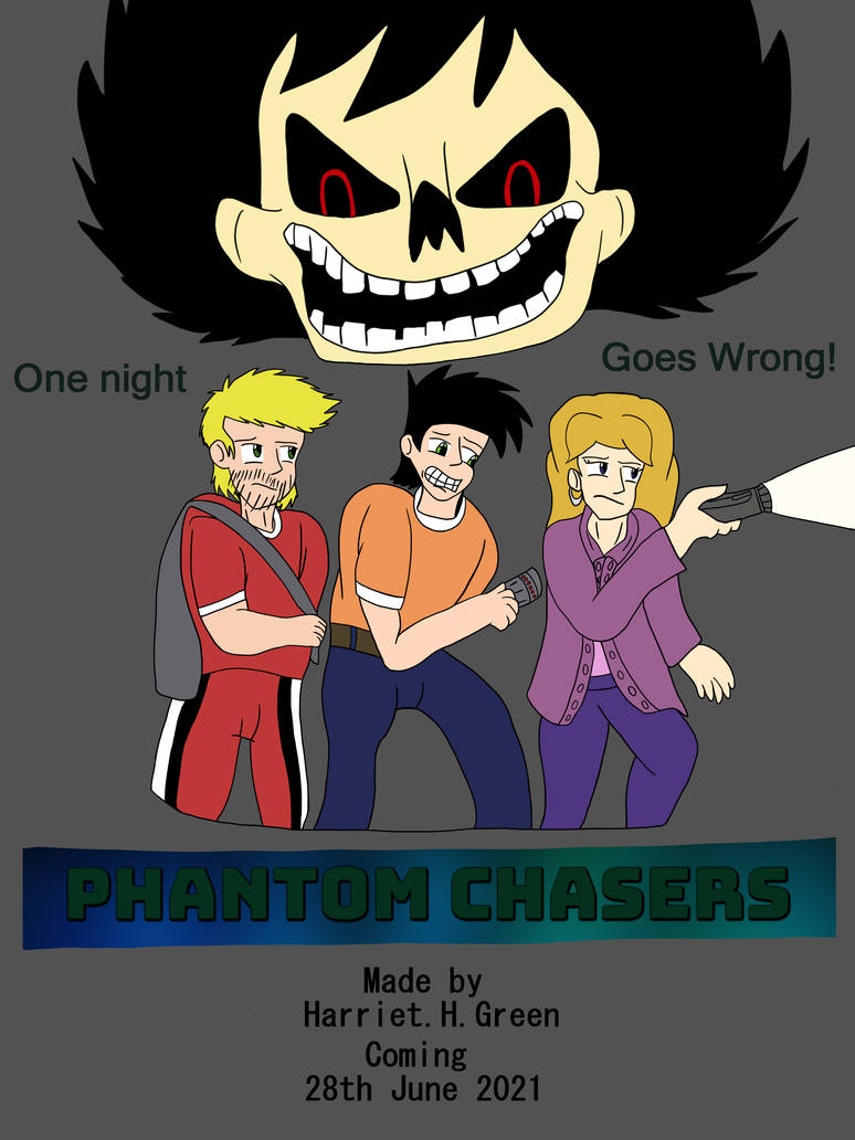 Phantom Chasers official 2021 poster