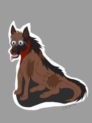 Dogmeat, the good boy