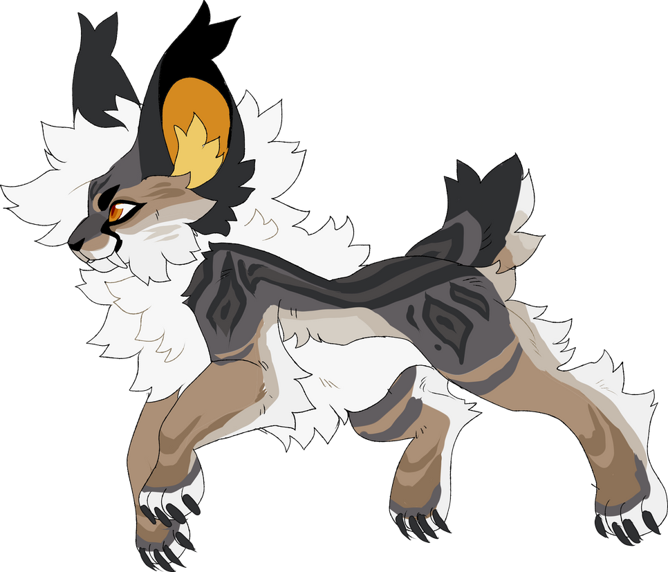 Lynx Me Sketch Custom By Honey Beest On Deviantart