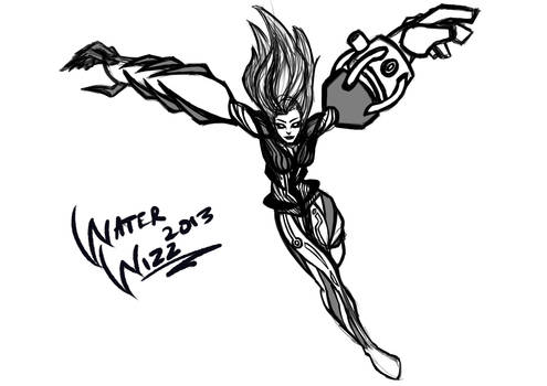 Sapphire Xonic character design