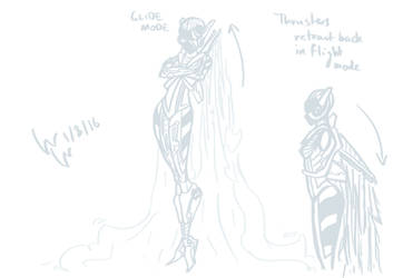 Day 8 - Unnamed Flight-based Character
