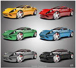 Ferrari Dino Choose your color
