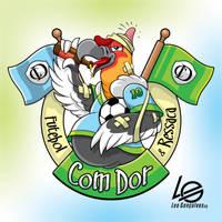 Com Dor Logotipo
