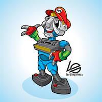 Expo Video Game mascote