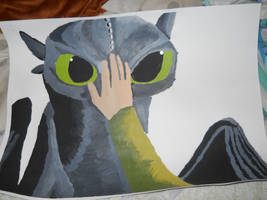 Toothless WIP by lteasley67