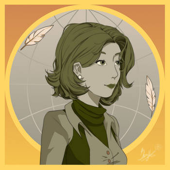 comm#4 Whimsy the cartographer by Revival-Yang