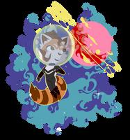 Request-cosmic panda by Revival-Yang