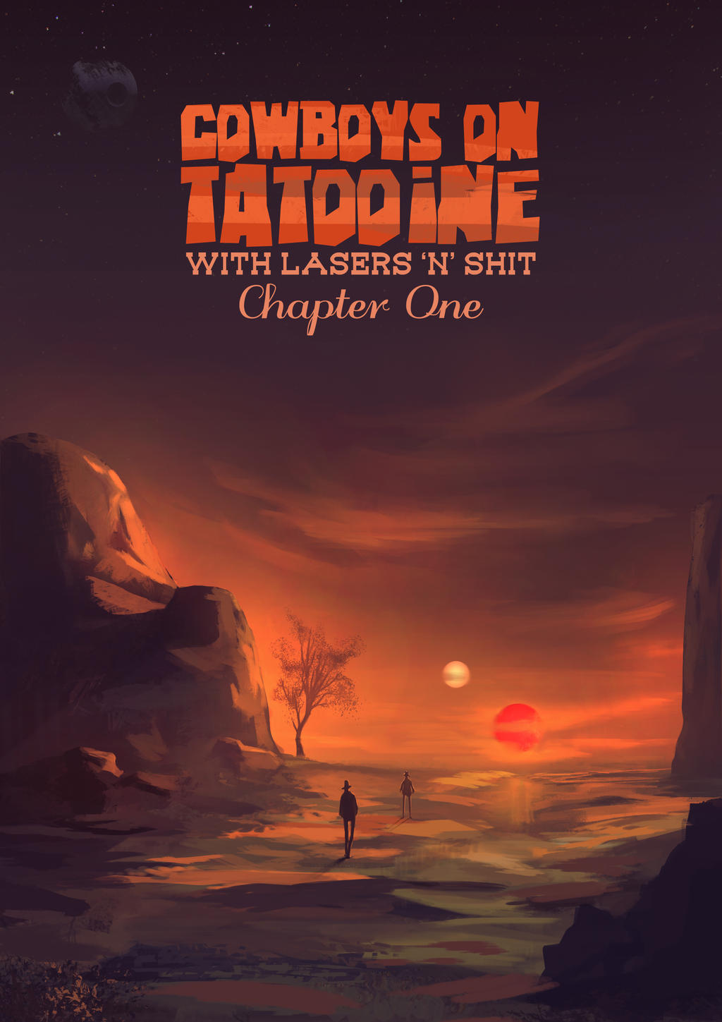 Cowboys On Tatooine by FlyingApplesaucer