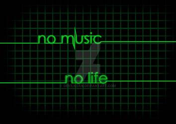 no music no life by devilkuan