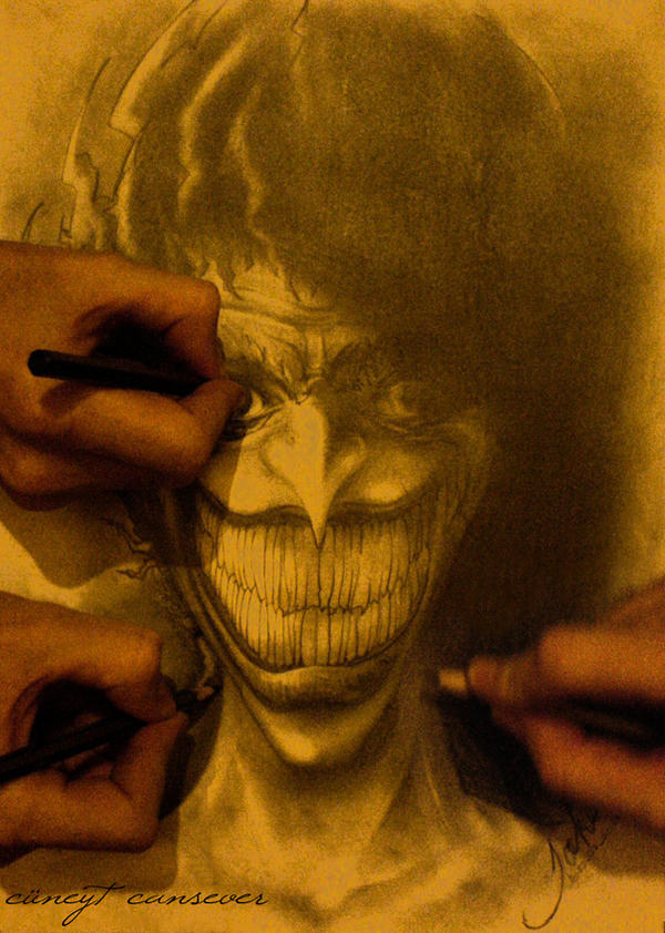 i make Joker by cey-cey