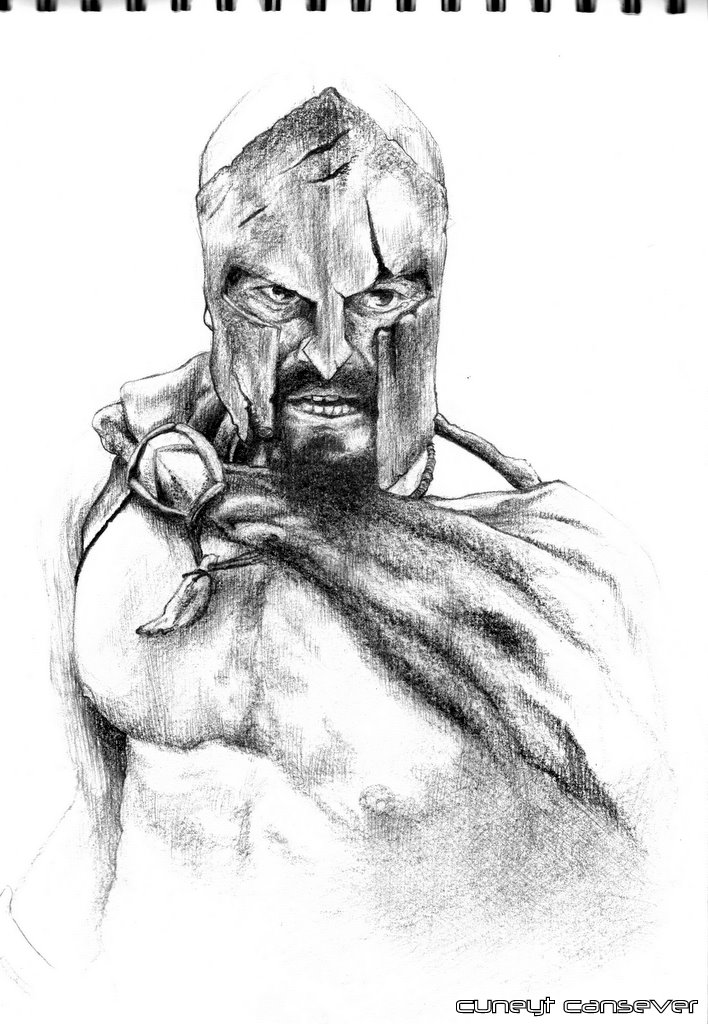 Leonidas Helmet by cey-cey