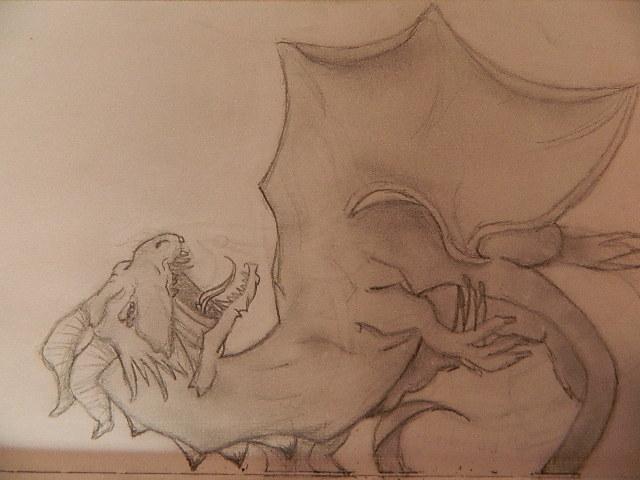 Dragon says rawrrrrrr by BabyKittenLove