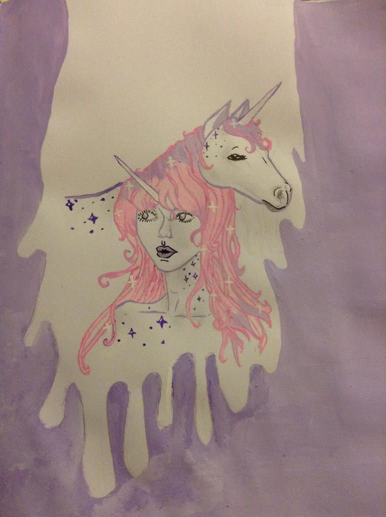 Dripping Unicorns by BabyKittenLove