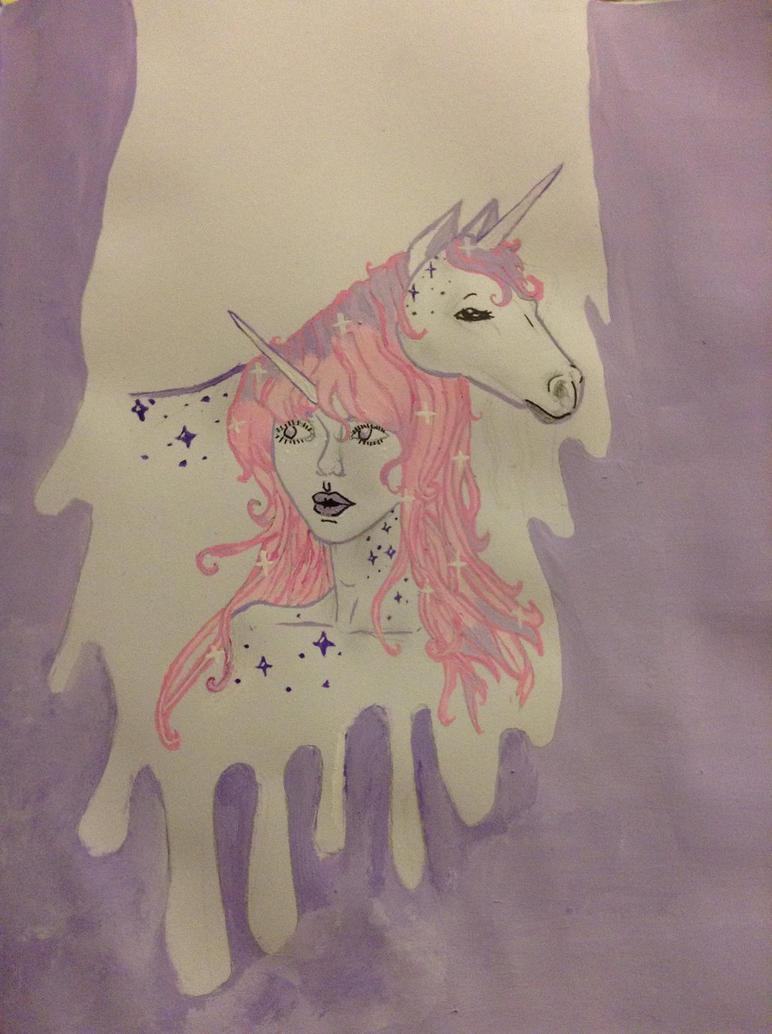 Dripping Unicorns by BabyKittenLove