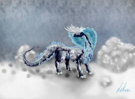 Fakemon: Glacialis by deKora01