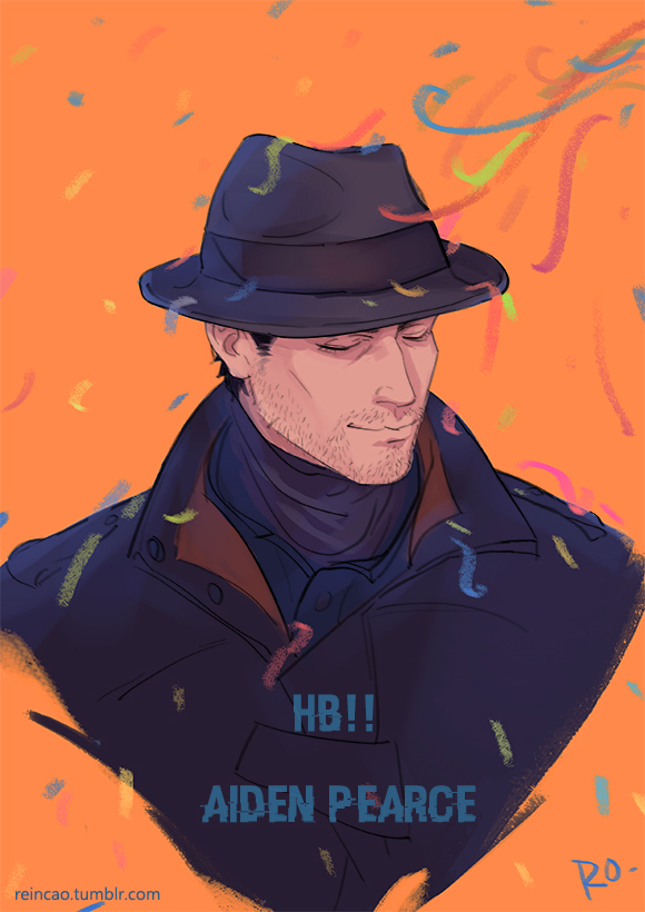 HB!aiden pearce by reincao