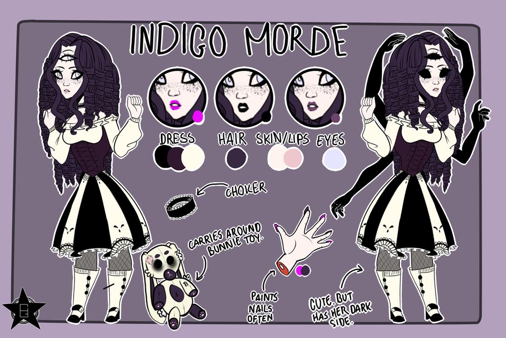 Indigo Morde by city-galaxies