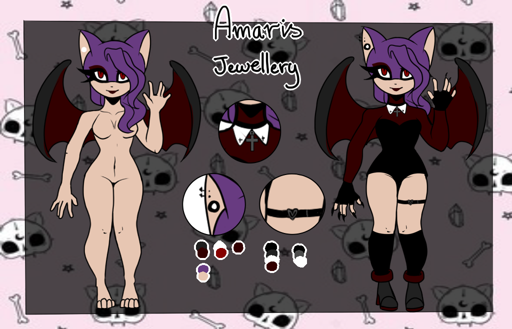 Contest entry . Amaris the bat by city-galaxies