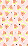 Watermelon custom box background by LittleMistaken