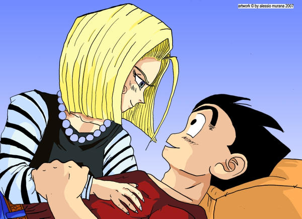 android 18 and krillin relationship questions