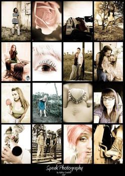 Neutral Tones Collage