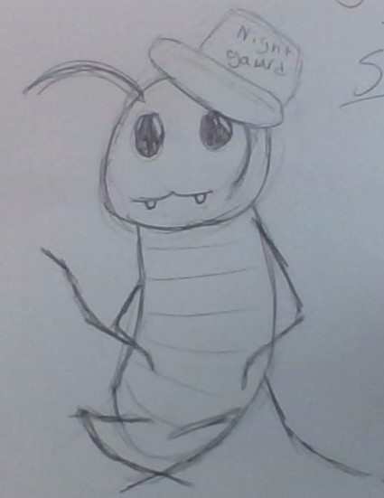 JERRY THE SILVERFISH!! by ZealousZealot77