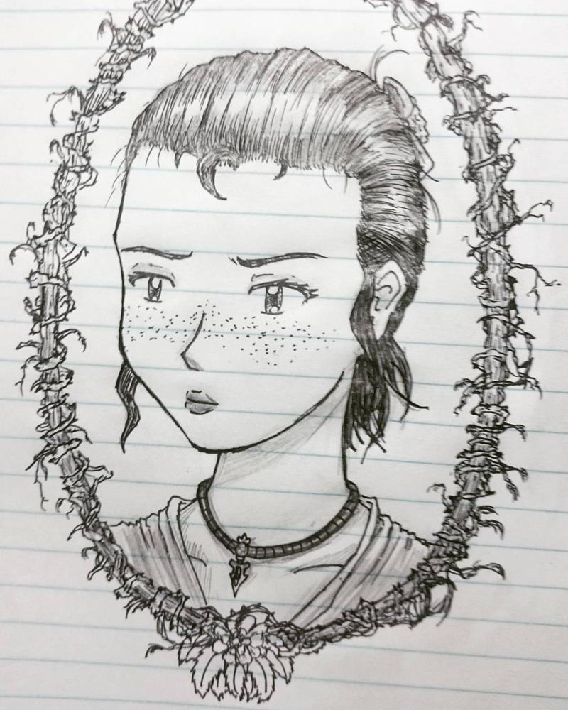 Lady by badbufon