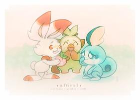 friends by inkpiin