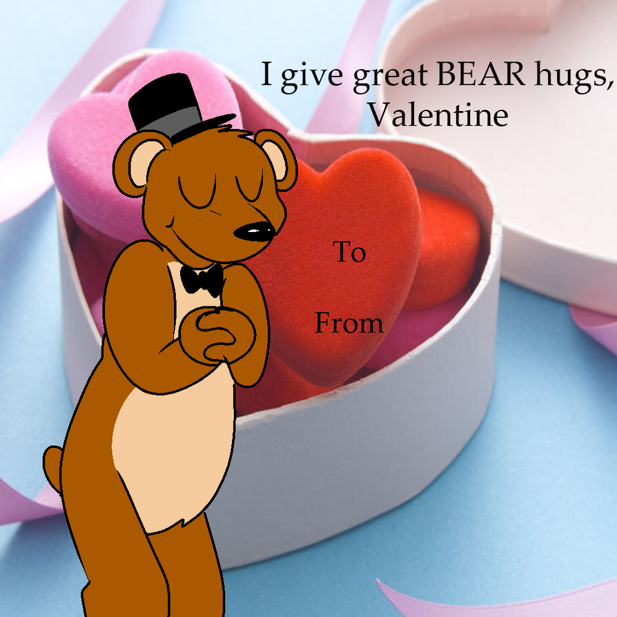 FNAF Valentines- Freddy by Radical-Hat