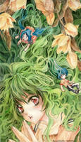 Hair like spring 2 by wantou