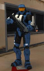 Spartan-400 (Paul) [Halo 3] by IamFile