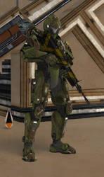 Commander Connor [Halo 4] by IamFile