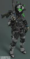 Female Pilot #14 - Andrea [Titanfall 2]