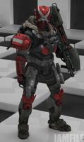 Commission - Slade [Halo Reach]