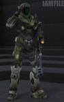 Spartan L114 - Samanta [Halo Reach]