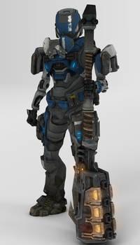 Spartan - AOS [Halo Reach]