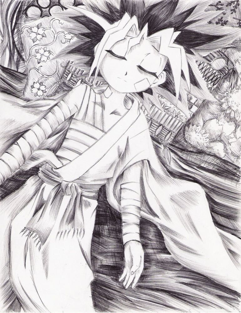 Injured Angel by sobafanaticofDOOM