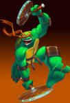 TMNT::Michelangelo