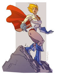 Powergirl by KharyRandolph