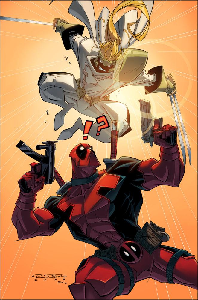 Part 14 / 8 - Page 2 Deadpool_V__Shatterstar__Color_by_KidKalig