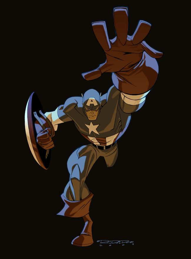 Captain America by KharyRandolph