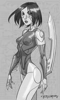 Sketch::Battle Angel Alita