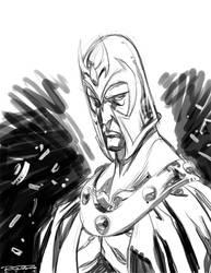 Sketch::Magneto by KharyRandolph